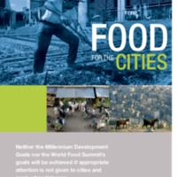 Panfleto Food for Cities